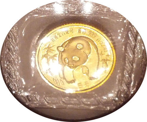 1986 (1/20 oz) 5 Yuan Gold Chinese Panda - (OMP Sealed)