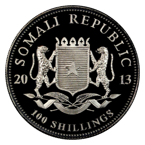 2013 Somali Republic - Elephant