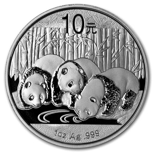 2013 1 oz Silver Chinese Panda (In Capsule) - Click Image to Close