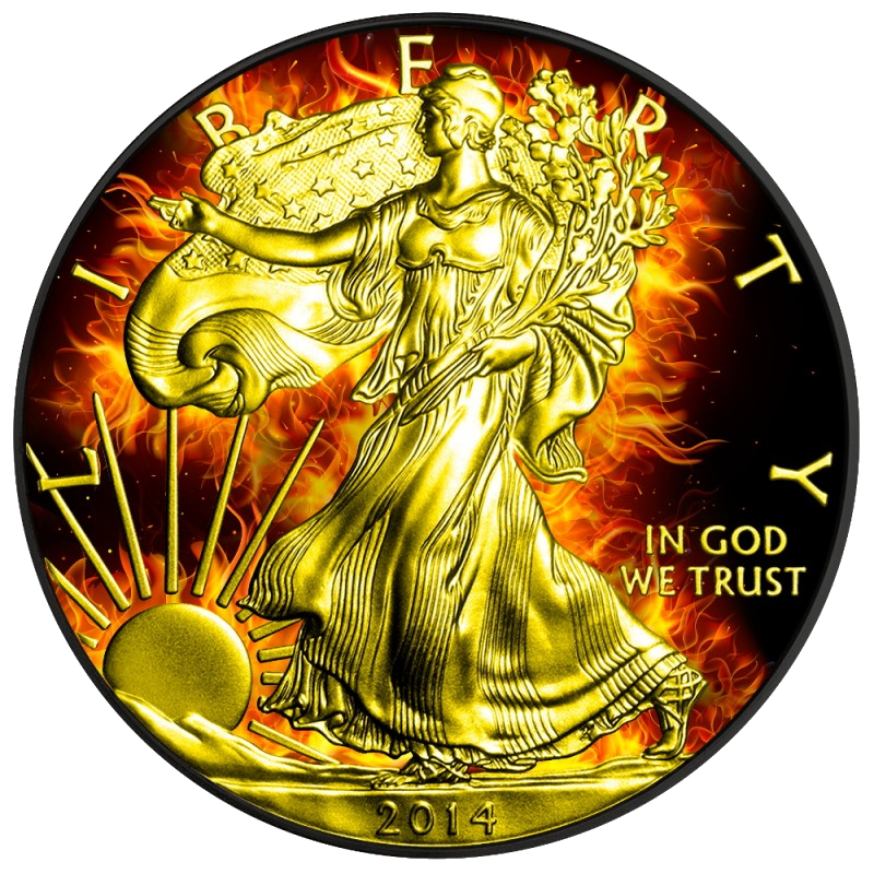 2014 Black Ruthenium/24kt Gold Burning ASE