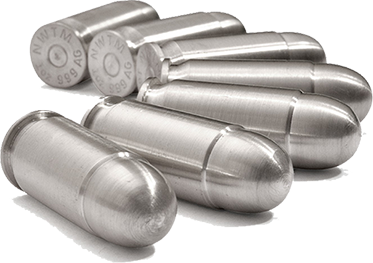 Silver Bullet Bullion - .45 ACP (10 troy oz) - Click Image to Close